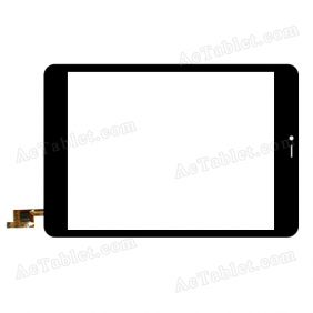 DY-F-07076 Digitizer Glass Touch Screen Replacement for 8 Inch MID Tablet PC