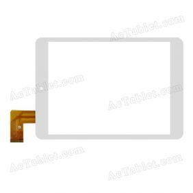 Digitizer Touch Screen Replacement for ZHEM785 thin 7.9 Inch MTK8127 Quad Core Tablet PC