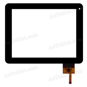 AD-C-800022-1-FPC Digitizer Glass Touch Screen Replacement for 8 Inch MID Tablet PC