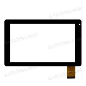 DX0135-070B Digitizer Glass Touch Screen Replacement for 7 Inch MID Tablet PC