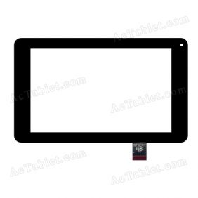 HOTATOUCH C191109A3-DRFPC102T-V1.0 Digitizer Glass Touch Screen Replacement for 7 Inch MID Tablet PC