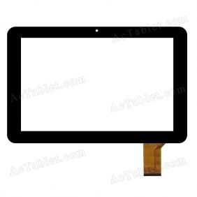 WJ-DR10031 FPC Digitizer Glass Touch Screen Replacement for 10.1 Inch MID Tablet PC