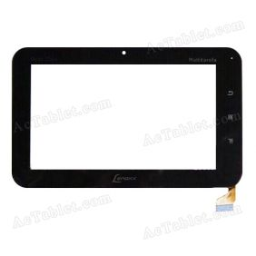 DYJ-0024-V5-FPC Digitizer Glass Touch Screen Replacement for 7 Inch MID Tablet PC