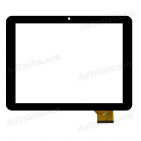 PB80A9223 KDX Digitizer Glass Touch Screen Replacement for 8 Inch MID Tablet PC