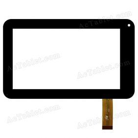 Z7Z67-Y A-6350B Digitizer Glass Touch Screen Replacement for 7 Inch MID Tablet PC