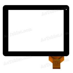 WJ-DR97017-FPC Digitizer Glass Touch Screen Replacement for 9.7 Inch MID Tablet PC