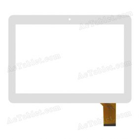 WJ-DR10039-FPC Digitizer Glass Touch Screen Replacement for 10.1 Inch MID Tablet PC