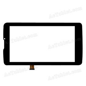 PG70093C2_FPC/F3A Digitizer Glass Touch Screen Replacement for 7 Inch MID Tablet PC