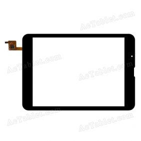 LT78066A2/CV819 Digitizer Glass Touch Screen Replacement for 7.9 Inch MID Tablet PC