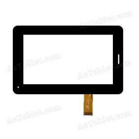 F761 FPC-V0 Digitizer Glass Touch Screen Replacement for 7 Inch MID Tablet PC