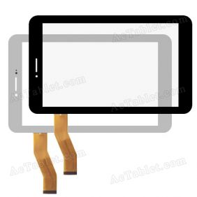 Digitizer Touch Screen Replacement for Freelander PX2 MTK8389 Quad Core 7 Inch Tablet PC
