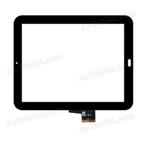 TCP97A50 V1.0 Digitizer Glass Touch Screen Replacement for 9.7 Inch Tablet PC