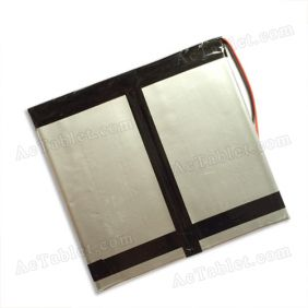 Replacement 6000mah Battery for 10/10.1/10.2 Inch Android Tablet PC 7.4V
