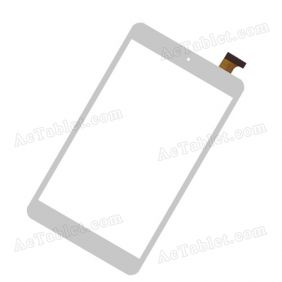 080291-01A-V1 Digitizer Glass Touch Screen Replacement for 8 Inch MID Tablet PC