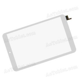 80701-0A5066C Digitizer Touch Screen Panel Replacement for 8 Inch Tablet PC
