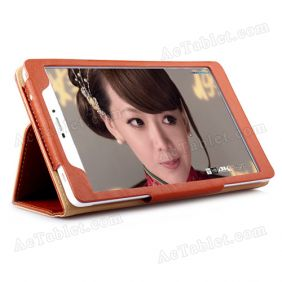Leather Case Cover for Onda V698 4G Marvell 1920 Quad Core Tablet PC 7 Inch
