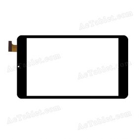 F-WGJ80095-V1 Digitizer Glass Touch Screen Replacement for 8 Inch MID Tablet PC
