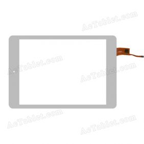 078075-01A-V2 Digitizer Glass Touch Screen Replacement for 7.9 Inch MID Tablet PC