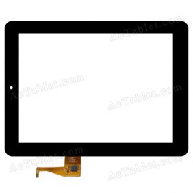 PB97SC8020-G2 Digitizer Glass Touch Screen Replacement for 9.7 Inch MID Tablet PC