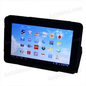 Leather Case Cover for Ainol Novo 7 Aurora II Tablet PC 7 Inch