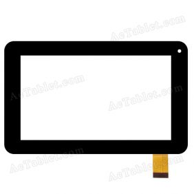 z7z232 FHX Digitizer Glass Touch Screen Replacement for 7 Inch MID Tablet PC