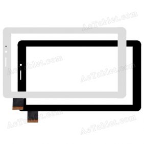 FPC-760A0-V01 KQ YSC Digitizer Glass Touch Screen Replacement for 7 Inch MID Tablet PC