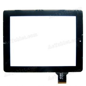 300-L4080A-C00-V1.0 Digitizer Glass Touch Screen Replacement for 9.7 Inch MID Tablet PC