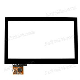 300-N3511B-A00-V1.0 Digitizer Glass Touch Screen Replacement for 7 Inch MID Tablet PC
