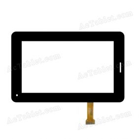 CZY6384B01-FPC Digitizer Glass Touch Screen Replacement for 7 Inch MID Tablet PC