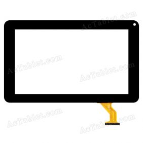 CZY6802B01-FPC Digitizer Glass Touch Screen Replacement for 9 Inch MID Tablet PC