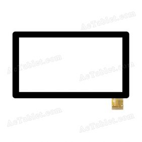 WJ383-V1.0 FHX Digitizer Glass Touch Screen Replacement for 7 Inch MID Tablet PC
