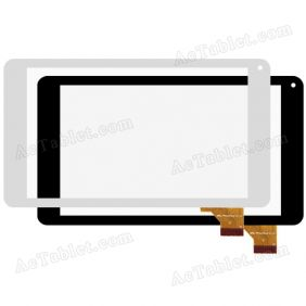 XC-PG0700-028-A2-FPC Digitizer Touch Screen Replacement for 7 Inch MID Tablet PC