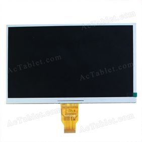 DX1010BE40B0 LCD Display Screen for 10.1 Inch Android Tablet PC 1024*600px