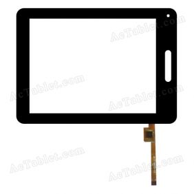 DR-F-08008-V3 TGH Digitizer Glass Touch Screen Replacement for 8 Inch MID Tablet PC