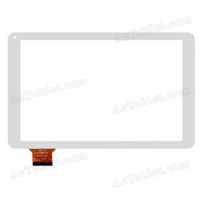 ZK-6146 Digitizer Glass Touch Screen Replacement for 10.1 Inch MID Tablet PC