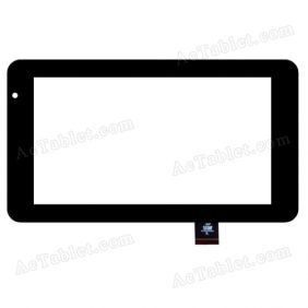 GJG0263A Digitizer Glass Touch Screen Replacement for 7 Inch MID Tablet PC