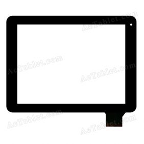 HS1205 Digitizer Glass Touch Screen Replacement for 9.7 Inch MID Tablet PC