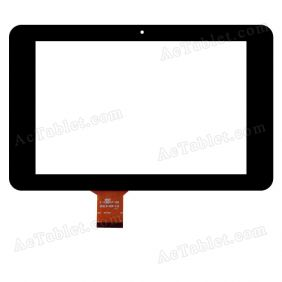 QSD E-C8047-01 Digitizer Glass Touch Screen Replacement for 8 Inch MID Tablet PC