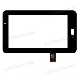 300-L3735A-A00-V1.0 Digitizer Glass Touch Screen Replacement for 7 Inch MID Tablet PC