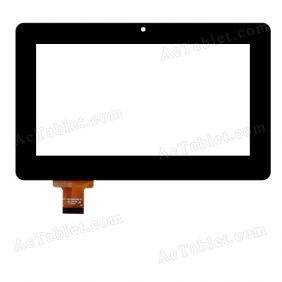 FPC-TP070200(C186)-00 Digitizer Glass Touch Screen Replacement for 7 Inch MID Tablet PC