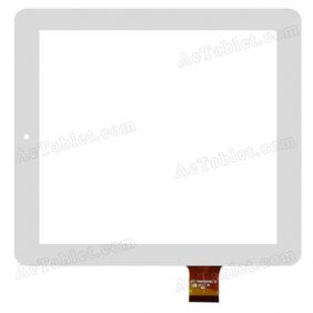 FPC-TP080006(P88)-00 Digitizer Glass Touch Screen Replacement for 8 Inch MID Tablet PC