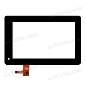 E-C7005-01 FPC Digitizer Glass Touch Screen Replacement for 7 Inch MID Tablet PC