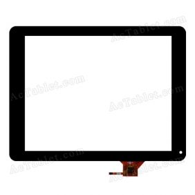QSD E-C97041-01 Digitizer Glass Touch Screen Replacement for 9.7 Inch MID Tablet PC