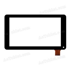 GF7033A2-PG Digitizer Glass Touch Screen Replacement for 7 Inch MID Tablet PC