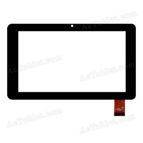 FPC-TP070199(716)-00 Digitizer Glass Touch Screen Replacement for 7 Inch MID Tablet PC