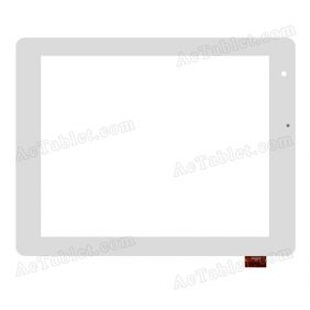 FPC-TP080035(806)-03 Digitizer Glass Touch Screen Replacement for 8 Inch MID Tablet PC