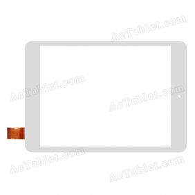 QSD E-C8028-01 Digitizer Glass Touch Screen Replacement for 8 Inch MID Tablet PC