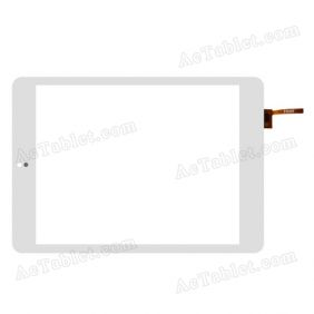 FPC-TP785005-00 Digitizer Glass Touch Screen Replacement for 7.9 Inch MID Tablet PC