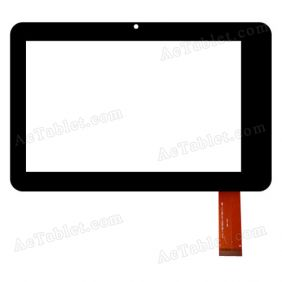 FPC-TP070036(MT70277)-00 Digitizer Glass Touch Screen Replacement for 7 Inch MID Tablet PC