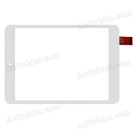 TPC-51131-c v1.1 Digitizer Glass Touch Screen Replacement for 7.9 Inch MID Tablet PC